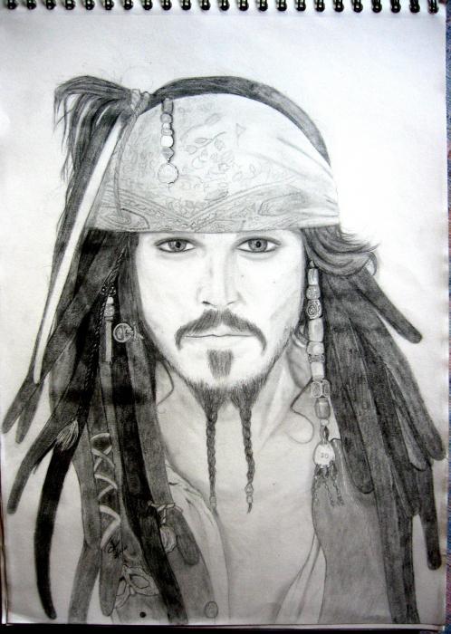 Johnny Depp by durrbachler11